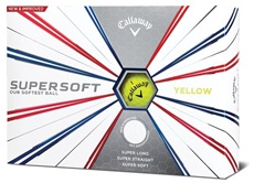 Callaway Supersoft Yellow 2019 piłki golfowe