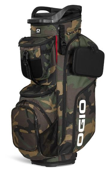 Ogio Alpha Convoy 514 cart bag, woodland camo