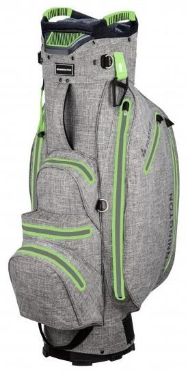 Bennington FO Premium Waterproof cart bag, grey tex
