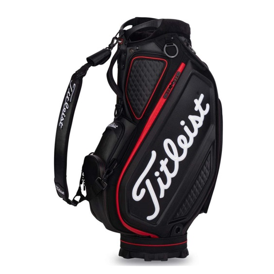 Titleist Tour Staff 9.5 bag, czarny