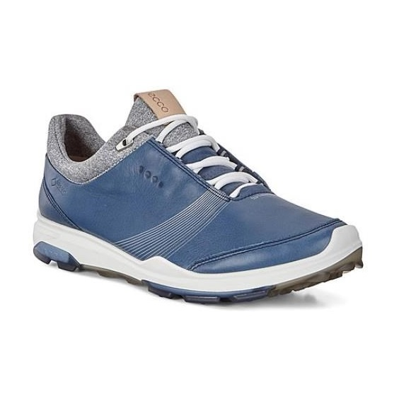 Ecco Golf Biom Hybrid 3 Gore-Tex damskie buty golfowe, denim blue