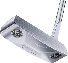 Mizuno M-Craft 1 White Satin putter + weight kit
