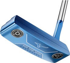 Mizuno M-Craft 1 Blue ION putter + weight kit