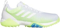 Adidas Codechaos męskie buty golfowe, cloud white/signal green/glory blue