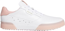 Adidas Adicross Retro damskie buty golfowe, cloud white/glory pink/cloud white