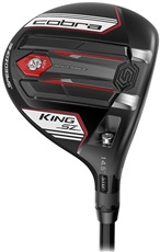 Cobra King SpeedZone Black/White męski fairway wood