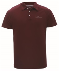 2117 of Sweden Frosaker męskie polo, wine red