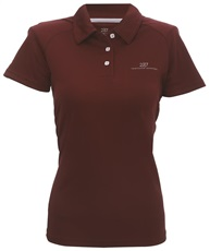 2117 of Sweden Frosaker damskie polo, wine red