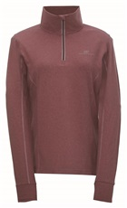 2117 of Sweden Ekudden bluza damska, wine red