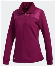 Adidas Cold.RDY ladies full zip bluza damska, power berry