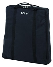 JuStar Carry Bag for Carbon Light, Silver and Silver manual