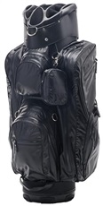 JuCad Aquastop cart bag, czarny