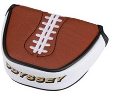 Odyssey Football Mallat headcover na putter