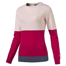 Puma Colorblock ladies sweater 2016, pink
