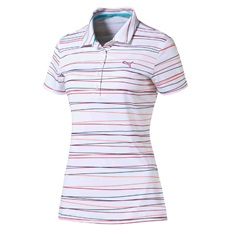 Puma Golf Road Map Map Stripe damskie polo
