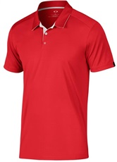 Oakley divisonal mens polo 2017, red line