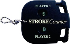 Longridge 2 player stroke counter black