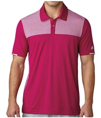 adidas ClimaChill Heather Block Competition męskie polo