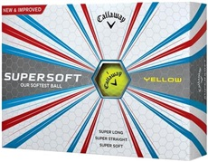 Callaway Supersoft Yellow piłki golfowe