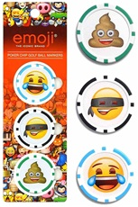 Emoji Poker Chips markery