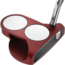 Odyssey O-Works Red 2-Ball putter + SuperStroke