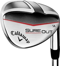 Callaway Sure Out wedge, stal