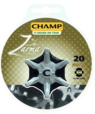 Champ Zarma golf spikes, Fits Pins, 20 spikes