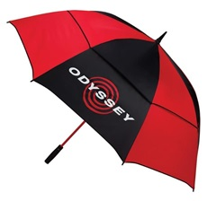 Odyssey Double Canopy AutoOpen parasol golfowy 68""