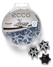 Ecco Champ Zarma Tour golf spikes, Slim-Lok, 18 spikes