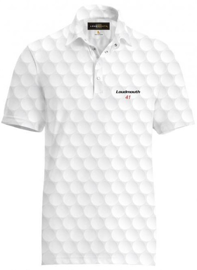 "Loudmouth Fancy ""Big Golf Ball"" męskie polo"